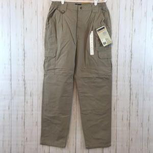 5.11 Tactical Khaki Cargo 14 Pants SS02☮️